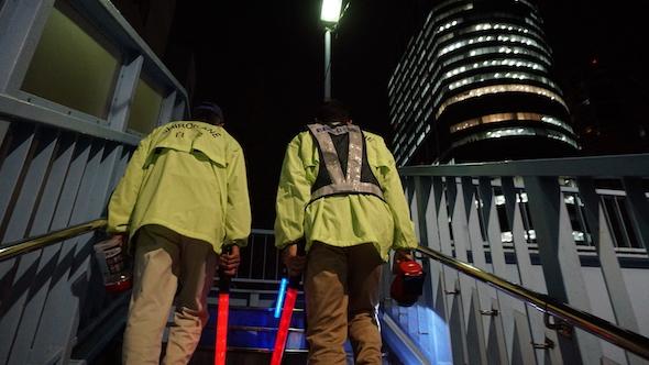 白金新聞#022白高町会パトロール写真09